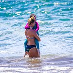 Faith and Lucy at Maui Surfer Girls