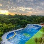 Pool view at Jungle's Edge