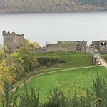 One of the many castles in Scotland (Urquhart Castle Ruins on Loch Ness)