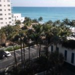 Vista desde el hotel de la playa y sus alrededores