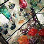 glassware for sale at Kentucky Artisan Center