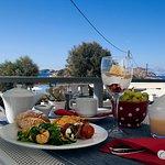 breakfast buffet veranda