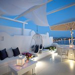 Outdoor lounge Superior Rooms