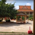 Main Buddha Temple on island