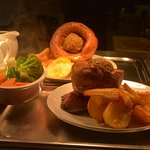 Sunday lunch is served at Jester's Raunds every Sunday from 12 midday