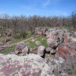 The quarry area