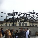 Dachau, the horrific concentration camp. Now a place of education and learning.