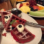 The red waffle is a very good option.