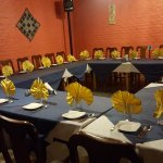Private setting for your business meetings and birthdays