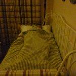lit banquette avec bunk-bed