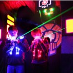 Adults and Kids both love laser tag at Ultrazone Loudoun, formally panther family fun