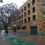 Es el acceso al Hotel,Plaza Chapina.