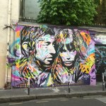 Home of Serge Gainsbourg, a coule blocks from the Hotel