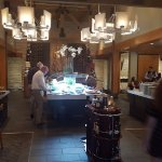 Central buffet is a popular option with guests
