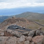 The views from the top of Mount Evans