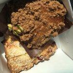 Pumpkin muffin & berry scone