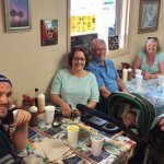 Great family dining from 10 weeks to 85 years.