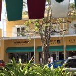 This minute across the street from Starbucks to Sperry, Natural Comfort and Cape Madras...