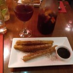 Sangria and churros