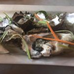 Pacific Rock oysters.