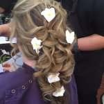 My wedding hair by such a talented artist! HIGHLY recommend :)