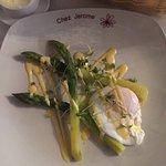 Asparagus starter