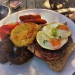 Black Cottage Cafe Breakfast