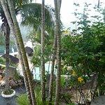 En el balcón