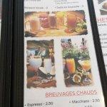 Bocadillo's menu part 2