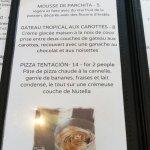Bocadillo's menu part 3