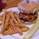 Huff n' Puff burger
