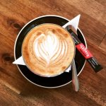 Expertly-brewed Yahava Coffee, and Bannister Downs Milk fresh from Northcliff daily.