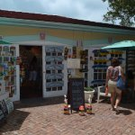 Former Mansion carriage house now Southernmost Gift Shop. A must stop at Key West.