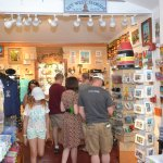 Interior Southernmost Gift Shop at Southernmost House Hotel.