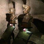 Memorial in the Crypt Bullet ridden window