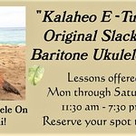 Now offering Baritone Slack Key Style