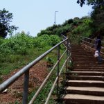 Manjarabad Fort 150 steps to climb up.