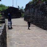 Fort entrance.