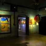 A glimpse of an art exhibition displayed at Conflictorium!