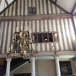 The cenral part of the house made into a tudor hall