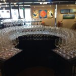 After a busy Saturday - almost 265 glasses polished for new customers.