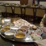 Kathiawadi thali - The Gateway Hotel Athwa Lines Sura