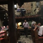 Restaurant in the evening with live music!