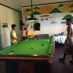 Jaydees Billiard table in the house