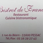 Photo de Bistrot de France