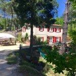 Place du village vacances et entrée