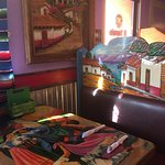 colorful decor and good food