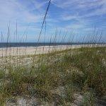 Peaceful Beach at Elizabeth Pointe Lodge