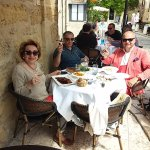 A lunch with Francois at Lourmarin was a total delight!