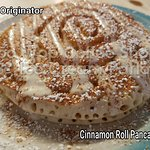 Wait until you see the new items!!  But the  cinnamon roll pancakes are still flyin fast.....eve